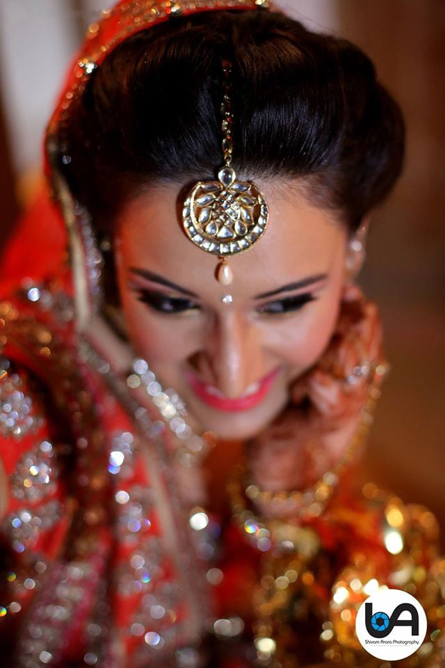 Beautiful mang tikka by Shivam Arora Photography Wedding-photography | Weddings Photos & Ideas