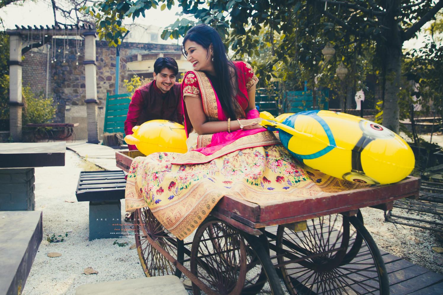 On a Rickshaw by ARC Photography Wedding-photography Wedding-dresses | Weddings Photos & Ideas