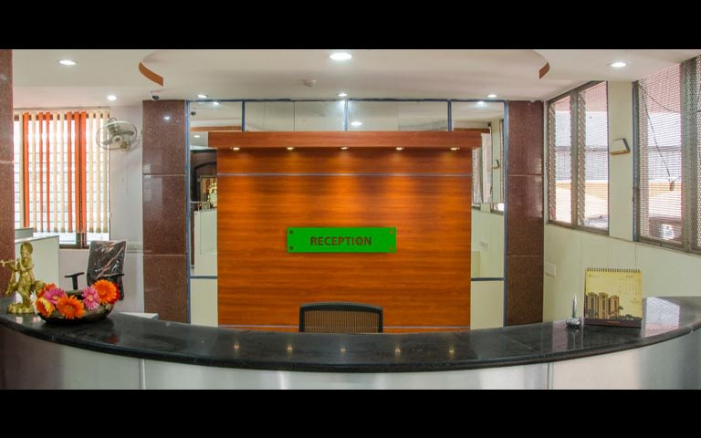 Modern office reception decor by Jacons Building Technologies  Modern | Interior Design Photos & Ideas