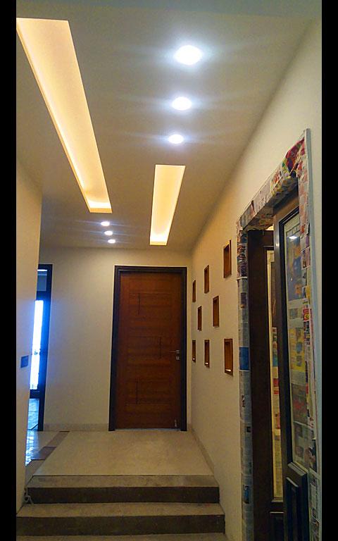 Well Lit Hallway by Neeti Thakur