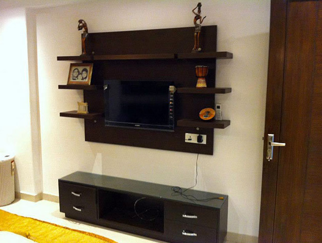 Classic TV cabinet decor by Nature In My life Living-room | Interior Design Photos & Ideas