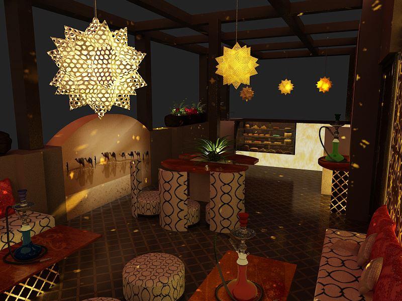 Contemporary 3-D effect bar decor by Nature In My life | Interior Design Photos & Ideas