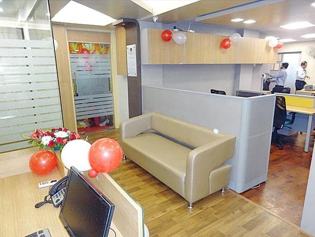 Modern open style office decor by Mod design consortium Modern | Interior Design Photos & Ideas