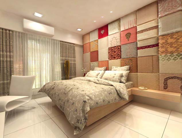 Creative bedroom by Karan patel Bedroom | Interior Design Photos & Ideas