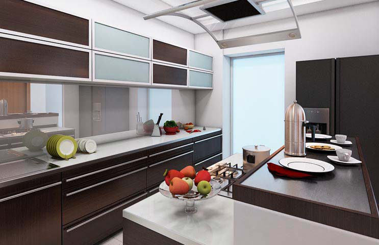 Modular kitchen by Karan patel Modular-kitchen | Interior Design Photos & Ideas