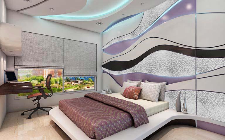 King sized bedroom by Karan patel Bedroom   Interior Design Photos & Ideas