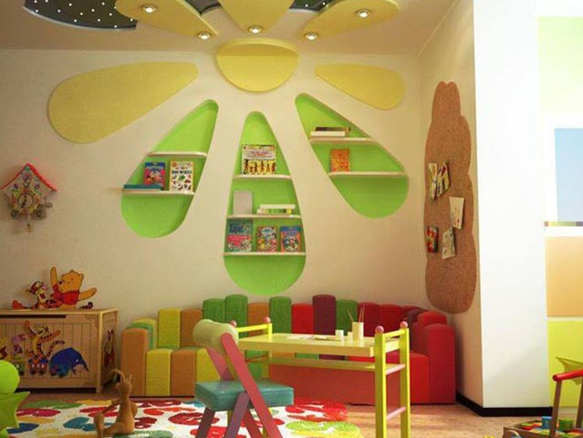 Cutesy idea of kid's room by RKS Design Studio Bedroom | Interior Design Photos & Ideas