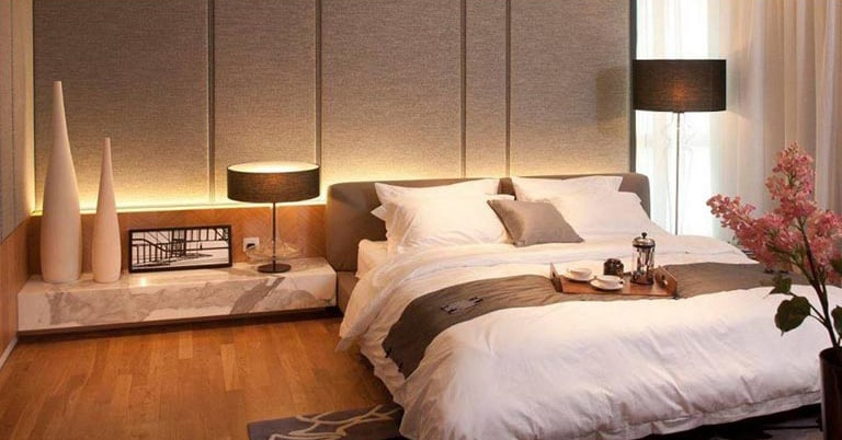 Gorgeous master bedroom design by RKS Design Studio Bedroom | Interior Design Photos & Ideas