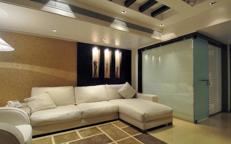 Subtle themed lavish living room by RKS Design Studio Living-room | Interior Design Photos & Ideas
