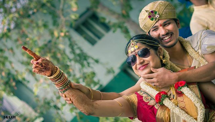 Cool bride shot by Raghavendra Wedding-photography | Weddings Photos & Ideas