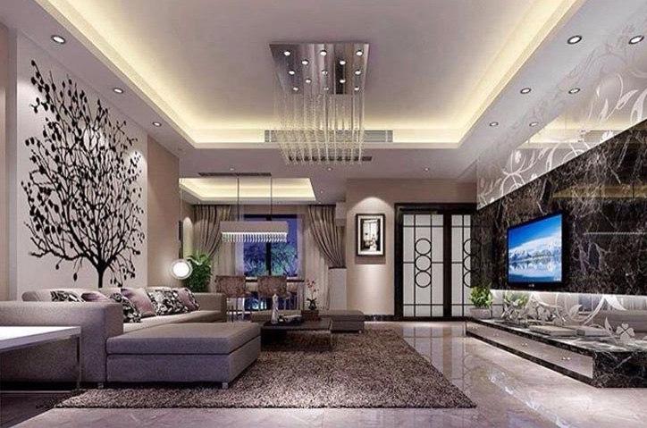 Spacious ,grand living room by Design And Decor Plus Living-room | Interior Design Photos & Ideas