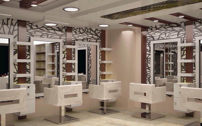 spacious salon by Design And Decor Plus | Interior Design Photos & Ideas