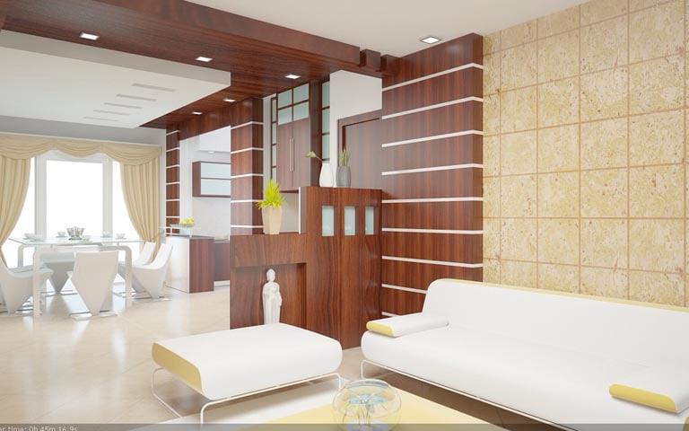 Spacious living room with white sofas by Design And Decor Plus Living-room | Interior Design Photos & Ideas
