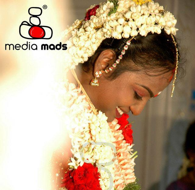 A stunning picture of the happy bride by Media Mads Wedding-photography | Weddings Photos & Ideas