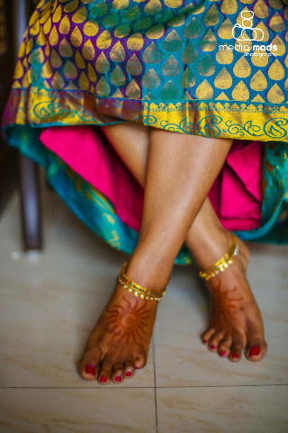 A lovely picture of the brides beautiful feet by Media Mads Wedding-photography | Weddings Photos & Ideas
