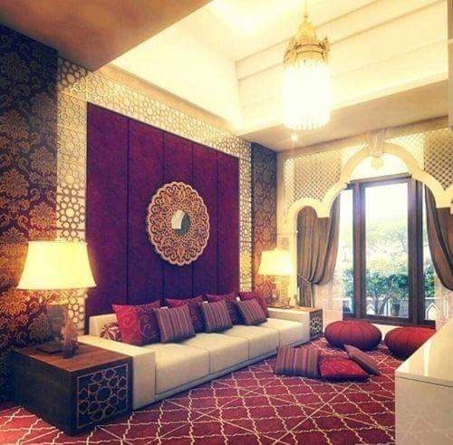 Royal living room by AH Interiors&Decorators  Living-room | Interior Design Photos & Ideas