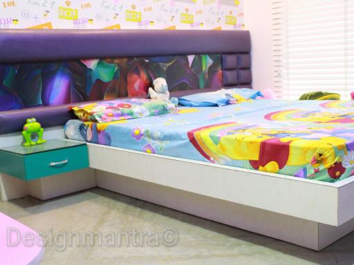 Disney themed kids bedroom decor by Designmantra Bedroom | Interior Design Photos & Ideas