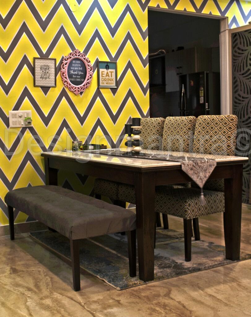 Unique dining room decor ideas by Designmantra Dining-room   Interior Design Photos & Ideas