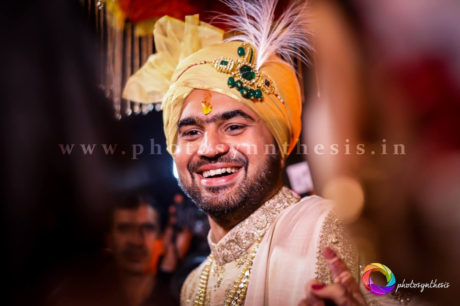Happy Groom waiting for his love by Photosynthesis Photography Services Wedding-photography | Weddings Photos & Ideas