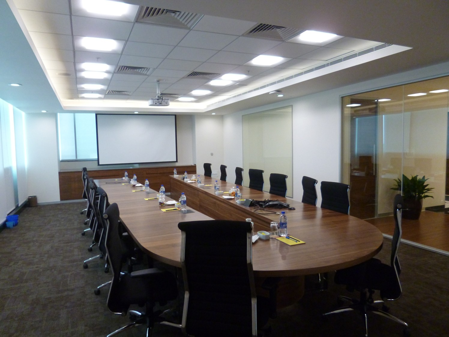 Classic conference room decor by Naveen Manne | Interior Design Photos & Ideas