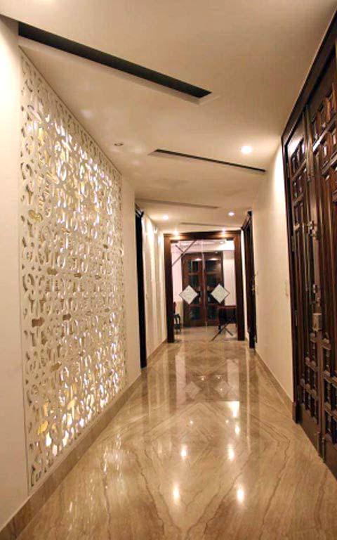 Elegant hallway decor by RG Associates