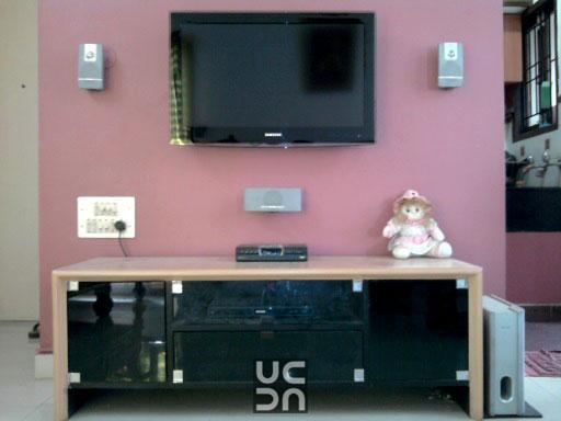 Idea for display area by A 2 Z Interior Designer Living-room   Interior Design Photos & Ideas