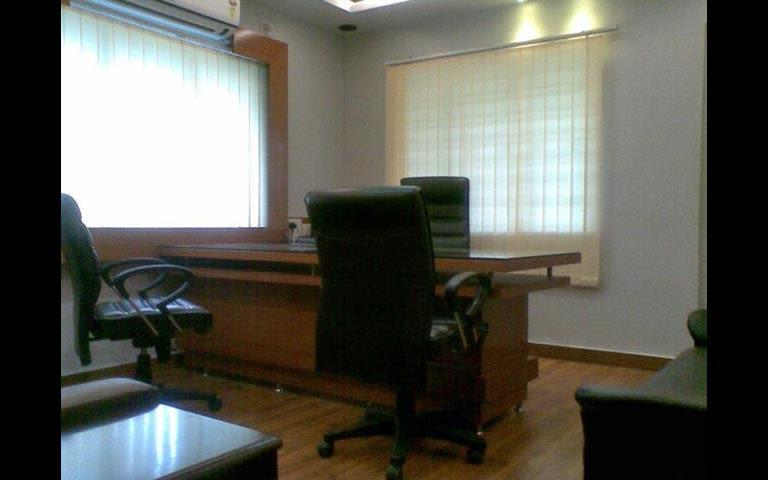 Modern cellular style office decor by DERA Modern | Interior Design Photos & Ideas