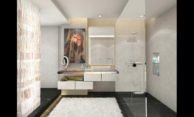 Modern bathroom decor by SR Xclusive Interiors & Design Bathroom Modern | Interior Design Photos & Ideas