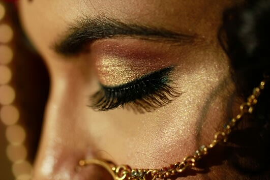 Gold shades! by Creative Clicks  Wedding-photography Bridal-makeup | Weddings Photos & Ideas