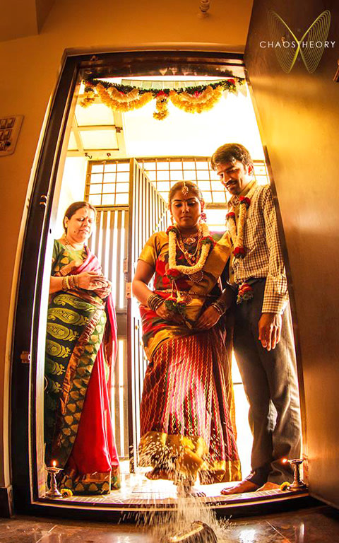 Entering new life with blessing! by Chaitanya  Wedding-photography | Weddings Photos & Ideas