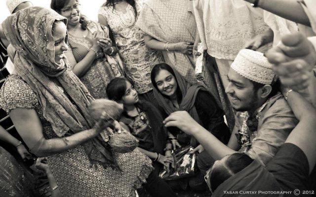 Candid family smile at the wedding ceremony. by Yasar Curtay Photography Wedding-photography | Weddings Photos & Ideas
