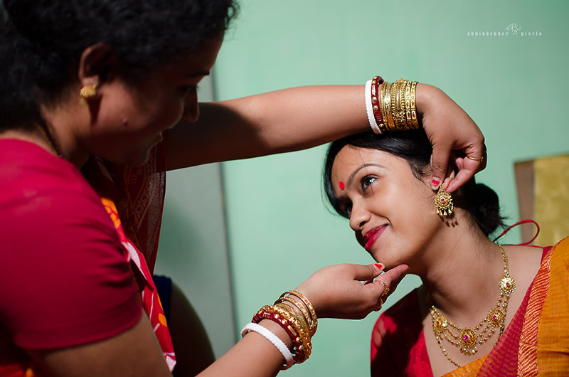 Getting ready for D-Day by abhishekdey pixels Wedding-photography | Weddings Photos & Ideas