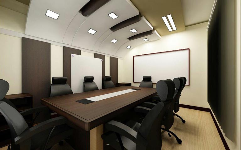 3D conference room design by The Midas Touch Interiors | Interior Design Photos & Ideas