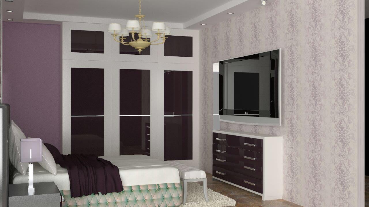 3D contemporary bedroom design by The Midas Touch Interiors Bedroom   Interior Design Photos & Ideas