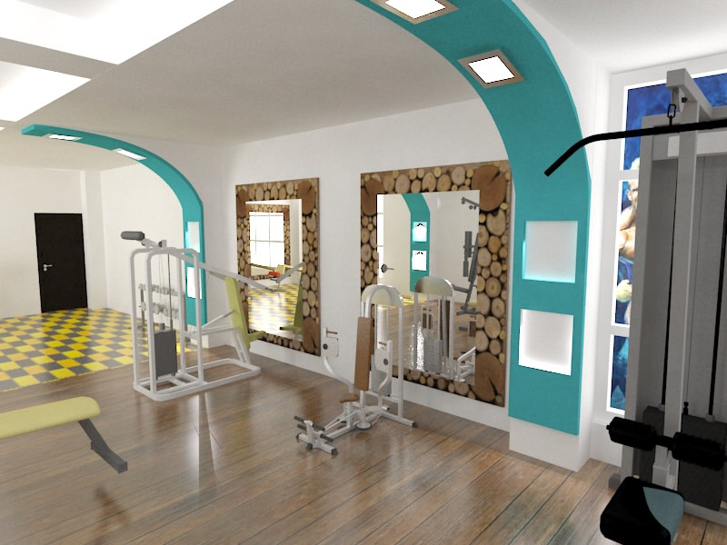 Gym design! by The Midas Touch Interiors | Interior Design Photos & Ideas