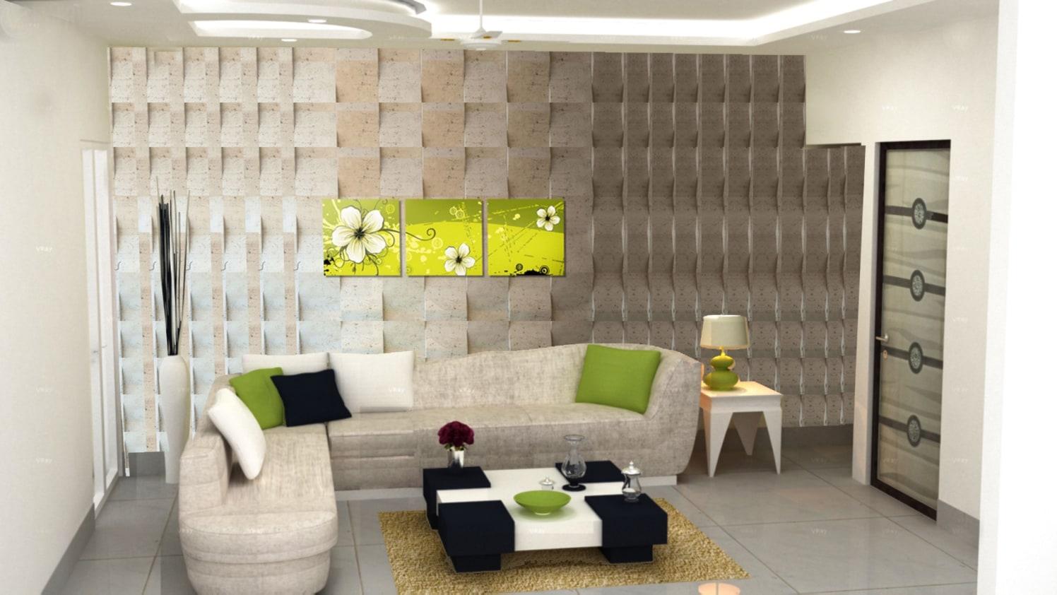 Contemporary living room! by The Midas Touch Interiors Living-room | Interior Design Photos & Ideas
