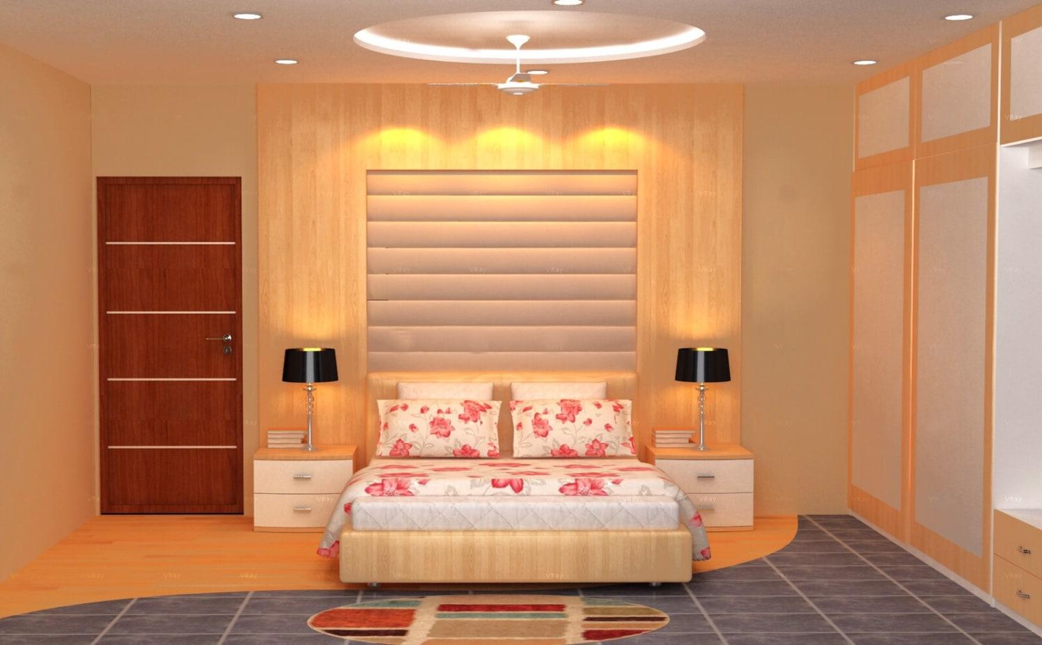 Contemporary bedroom design by The Midas Touch Interiors Bedroom | Interior Design Photos & Ideas