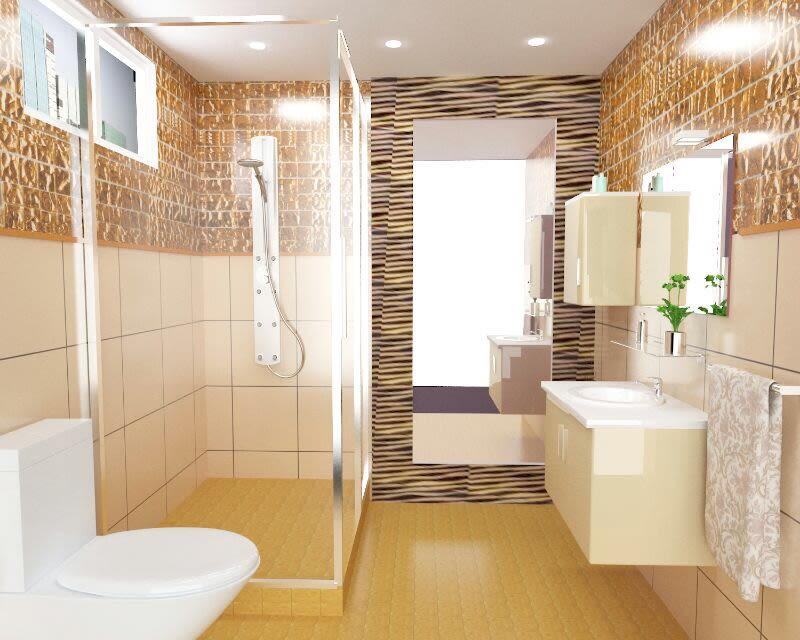 Contemporary bathroom design! by The Midas Touch Interiors Bathroom | Interior Design Photos & Ideas