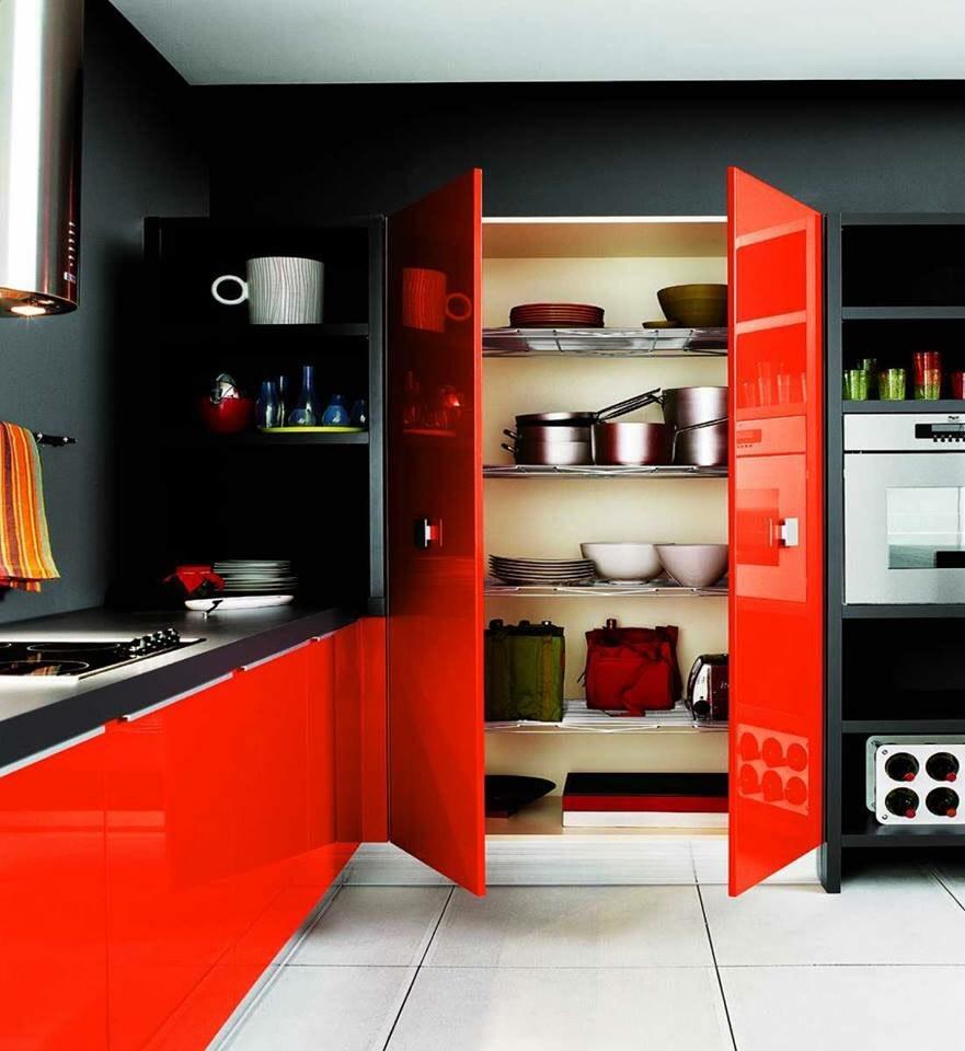 Kitchen cabinets! by The Midas Touch Interiors Modular-kitchen   Interior Design Photos & Ideas