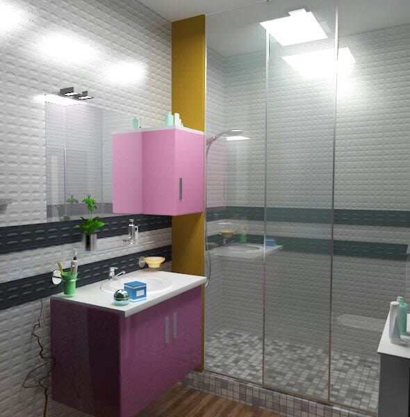 Modern washroom by The Midas Touch Interiors Bathroom   Interior Design Photos & Ideas