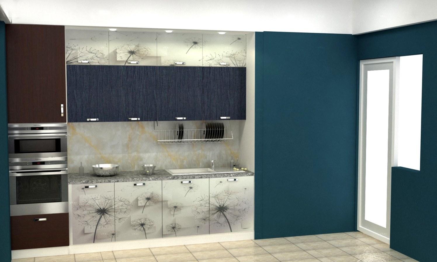 Modern kitchen cabinets! by The Midas Touch Interiors Modular-kitchen | Interior Design Photos & Ideas