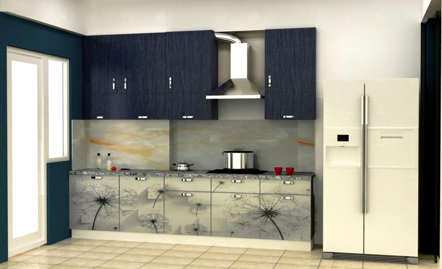 Kitchen cabinets by The Midas Touch Interiors Modular-kitchen | Interior Design Photos & Ideas