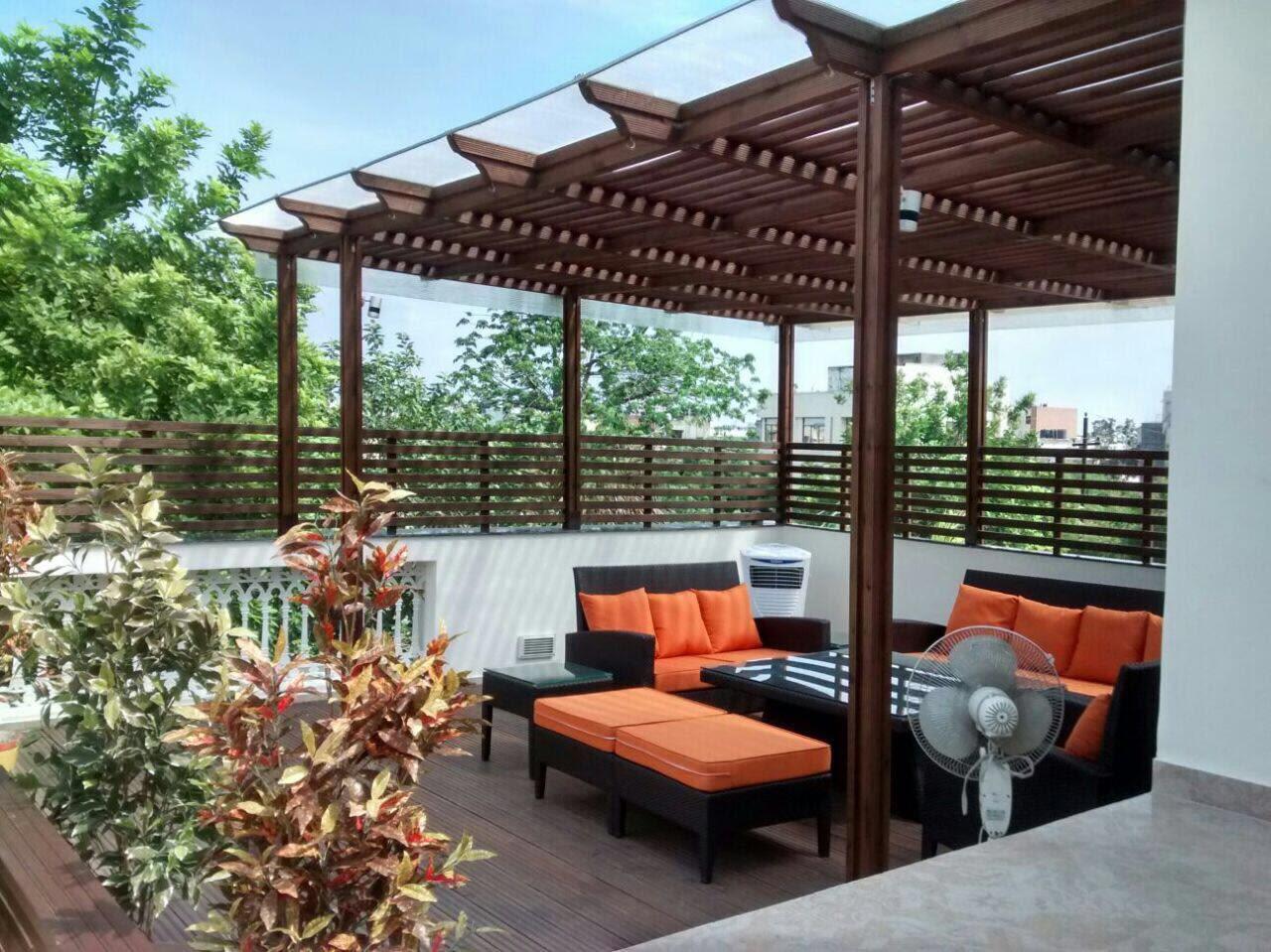 Contemporary terrace! by The Midas Touch Interiors Open-spaces | Interior Design Photos & Ideas