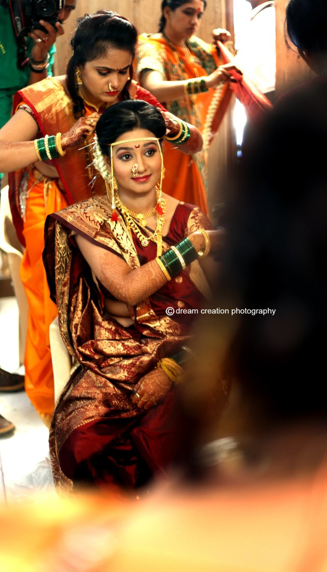 A beautiful picture of the elegant bride by Dream creation Omerga Wedding-photography | Weddings Photos & Ideas