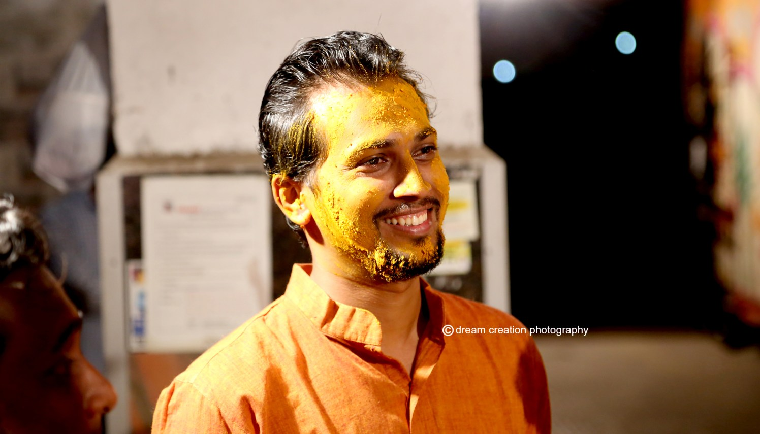 happy with the haldi by Dream creation Omerga Wedding-photography | Weddings Photos & Ideas