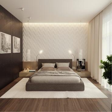 Elegant bedroom decor by Ondesign Architects Bedroom Modern | Interior Design Photos & Ideas