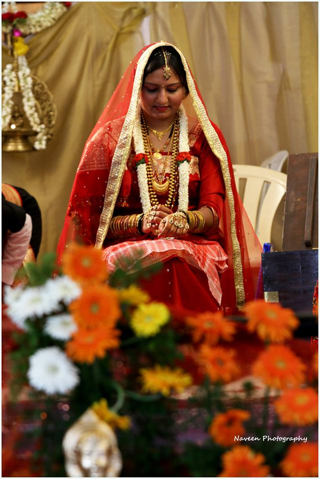 Bride during her wedding ceremony by Naveen Photography Wedding-photography | Weddings Photos & Ideas
