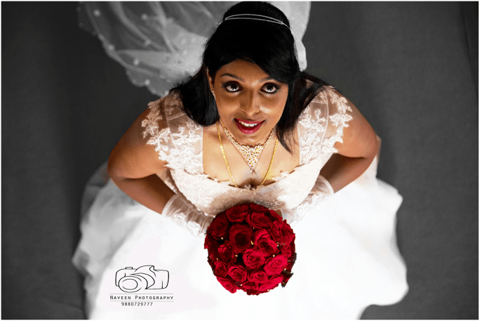 Christian bride portrait by Naveen Photography Wedding-photography | Weddings Photos & Ideas