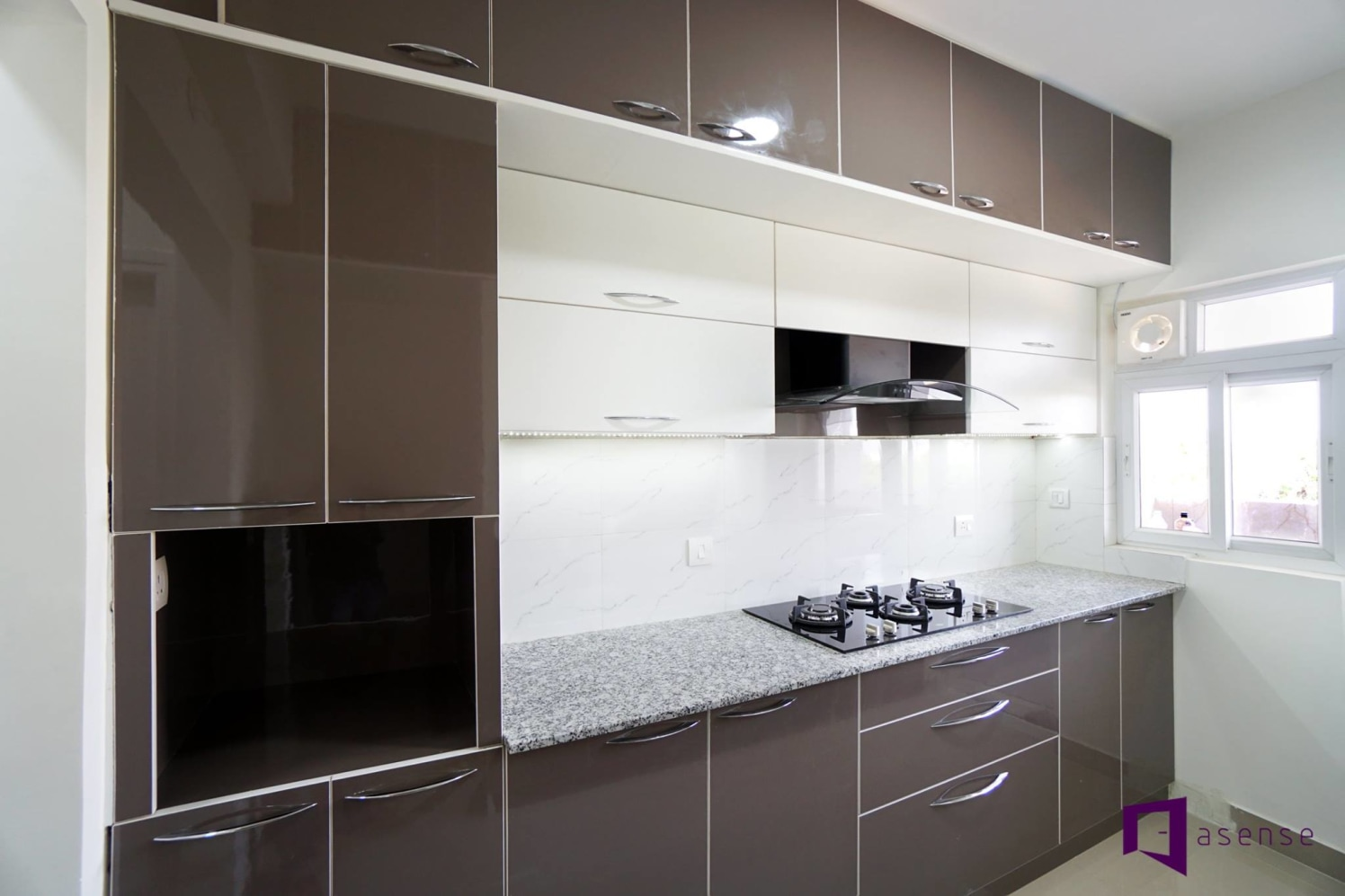 The kitchen by Asense Interior