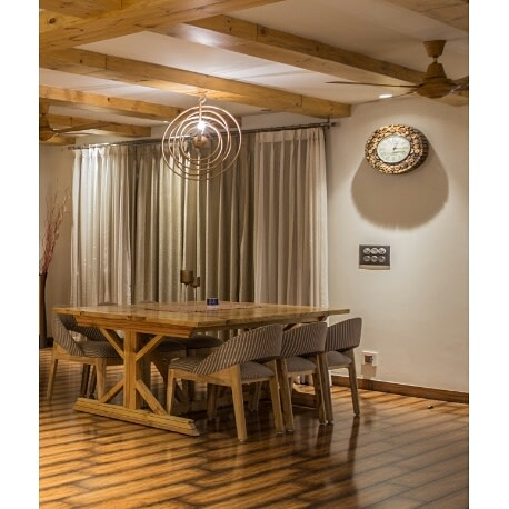 The great soothing interior! by RopedDesign Dining-room | Interior Design Photos & Ideas